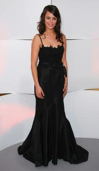 Berenice Bejo at the photocall during the 32nd Cesars film awards ceremony.