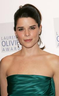 Neve Campbell at the Laurence Olivier Awards.
