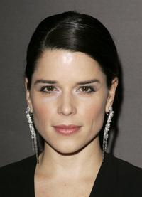 Neve Campbell at The Orange British Academy Film Awards.