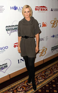 Jenny McCarthy at the 10th Annual Gridiron Glamour show benefiting the HollyRod Foundation and SARRC in Arizona.