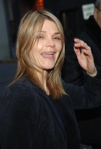 Kathryn Erbe at the opening night of