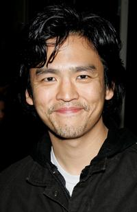 John Cho at the party to celebrate the launch of Helio a new mobile communications service.