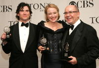 Billy Crudup, Jennifer Ehle and Director Jack O'Brien at the 61st Annual Tony Awards.