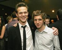 Joseph Cross and Jamie Bell at the after party of the premiere of