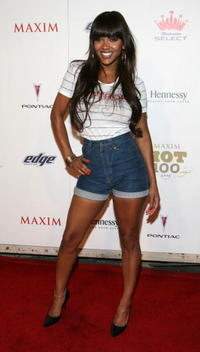 Meagan Good at the MAXIM's 2008 Hot 100 party.