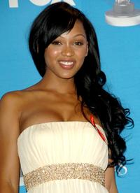 Meagan Good at the 38th annual NAACP Image Awards.