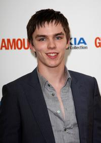 Nicholas Hoult at the Glamour Women of the Year Awards.