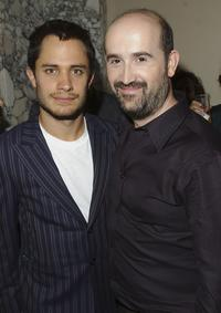 Gael Garcia Bernal and Javier Camara at the New York after party of