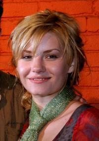 Elisha Cuthbert at the Palms Girl Competition.
