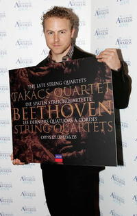 Samuel West at the annual classical music awards ceremony