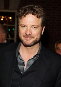 Colin Firth at the after party of the New York premiere of