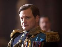 Colin Firth as King George VI in