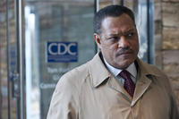 Laurence Fishburne as Dr. Ellis Cheever in ``Cantagion.''