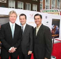 Randall Wallace, Guest and Mark Ciardi at the special screening of