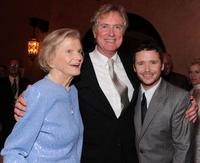 Penny Chenery, Randall Wallace and Kevin Connolly at the after party of the premiere of