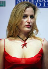 Gillian Anderson at the Foreign Press Association Media Awards.