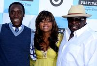 Cedric the Entertainer, Don Cheadle and Taraji P. Henson at the Los Angeles Film Festival opening night screening of