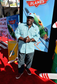 Cedric the Entertainer at the World premiere of