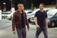 Vin Diesel as Dom Toretto and Paul Walker as Brian O'Conner in