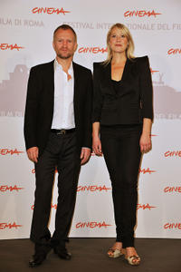 Ulrich Thomsen and Trine Dyrholm at the photocall of