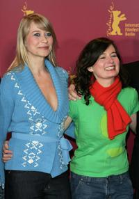Trine Dyrholm and Director Pernille Fischer Christensen at the photocall of
