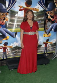 Raven Symone at the N.Y. premiere of
