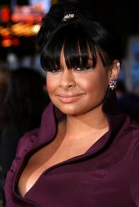 Raven Symone at the world premiere of