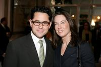 J.J. Abrams and Kathleen Kennedy at the AFI Awards Luncheon 2005.