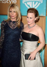 Rosana Arquette and Patricia Arquette at the In Style Magazine and Warner Bros. Studios Golden Globe After Party.
