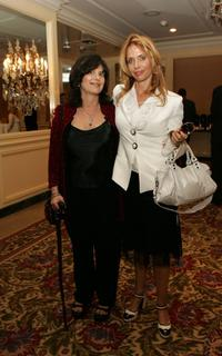 Rosanna Arquette and Cathleen Leslie at the AFI Associates luncheon honors Arquette family with the 6th Annual 'Platinum Circle Award'.