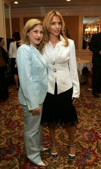 Rosanna Arquette and Patricia Arquette at the AFI Associates luncheon honors Arquette family with the 6th Annual 'Platinum Circle Award'.