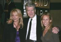 Rosanna Arquette, David Lync and Sheryl Crow at the Los Angeles premiere of