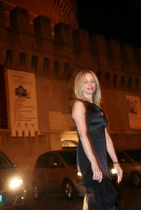 Rosanna Arquette at the Castel Sant'Angelo for the opening day party of the RomaFictionFest.