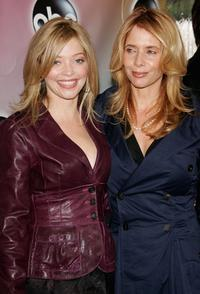 Rosanna Arquette and Amanda Detmer at the ABC Television Network Upfront.