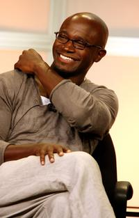 Taye Diggs at the 2007 Summer TCA Tour.