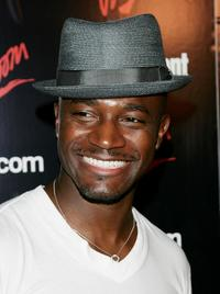 Taye Diggs at the Entertainment Weekly and Vavoom's Network Upfront party.
