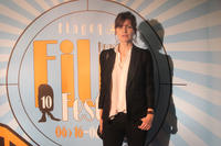 Arly Jover at the Brussels Film Festival 2012 in Belgium.
