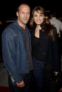 Jason Statham and Kelly Brook at the premiere of