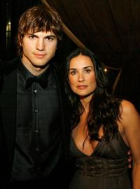 Ashton Kutcher and Demi Moore at the AFI FEST during the opening night gala of