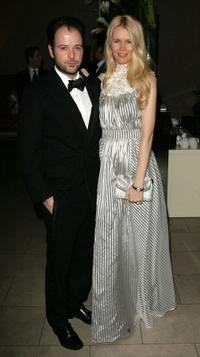 Matthew Vaughn and Claudia Schiffer at the Orange British Academy Film Awards.