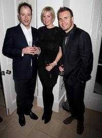 Matthew Vaughn, Dawn Barlow and Gary Barlow at the after party of the European premiere of