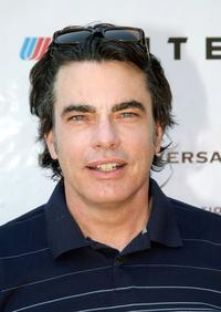Peter Gallagher at the 6th Annual Academy of Arts and Sciences Celebrity Golf Classic.