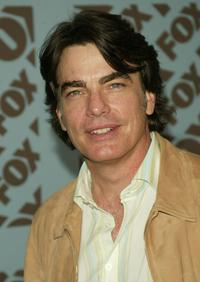 Peter Gallagher at the Fox upfront.