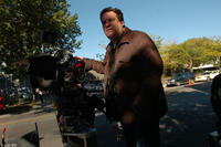 Director Jeff Garlin on the set of