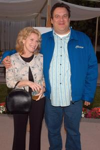 Jeff Garlin and his wife Marla at the premiere of