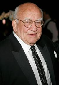 Ed Asner at the 59th Annual Emmy Awards.