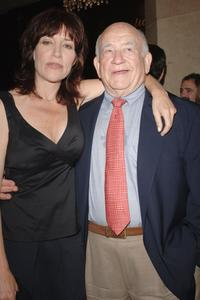 Ed Asner and Katie Sagal at the HELP Groups' Teddy Bear Picnic.