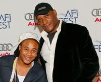 Orlando Brown and Tony Todd at the World premiere of