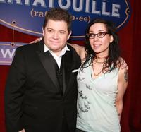 Patton Oswalt and Janeane Garofalo at the premiere of