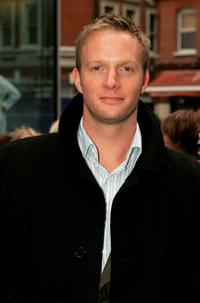 Rupert Penry-Jones at the opening of New Professional Children's Theatre.